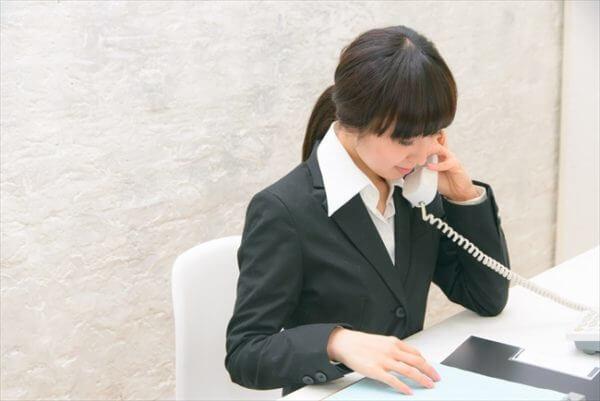 担当者の電話対応が親切